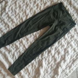 Victoria's secret knockout leggings olive medium